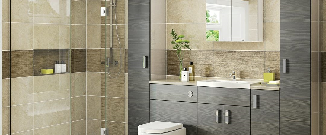 JJO Avola Grey Brown on Kashmir Bathroom