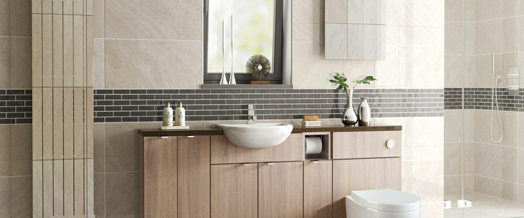 JJO Tempo Bardolino Oak Bathroom