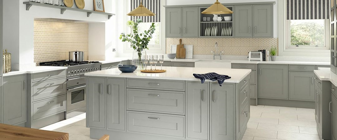 Sheraton Edwardian Painted Kitchen